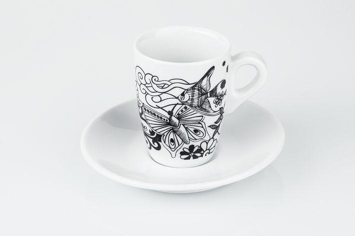 CAFFE' - Tazze e tazzine da caffè in porcellana Lune