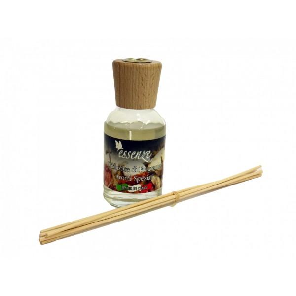 Diffusore di fragranza con bastoncini - Aromi Speziati