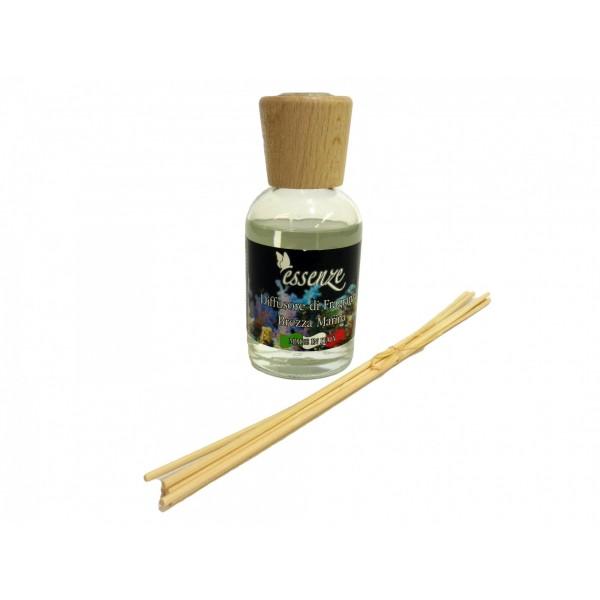 Diffusore di fragranza con bastoncini - Brezza Marina