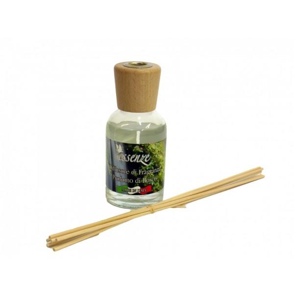 Diffusore di fragranza con bastoncini - Profumi di bosco