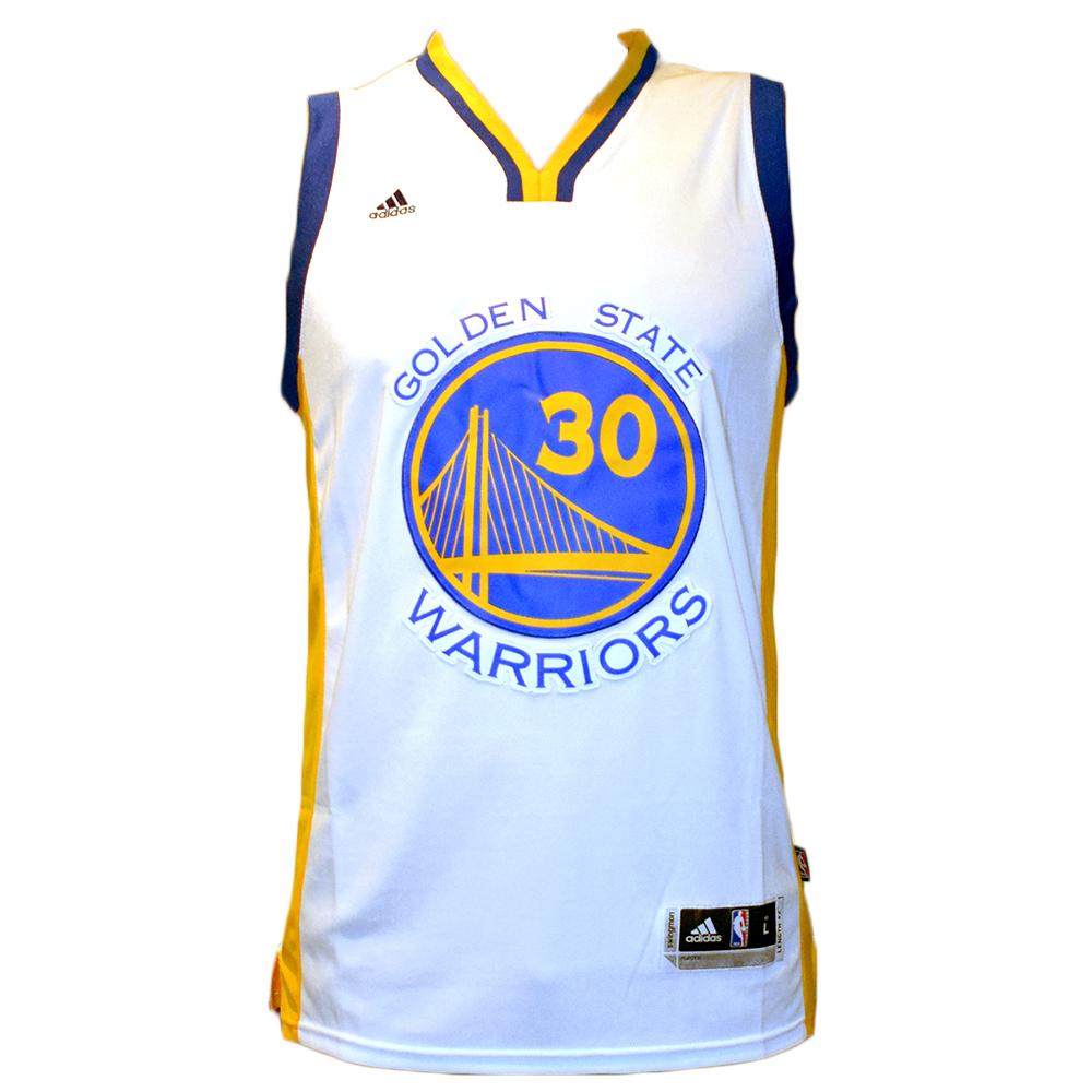 Maglia canotta NBA - Stephen Curry Golden State Warriors - Taglia L
