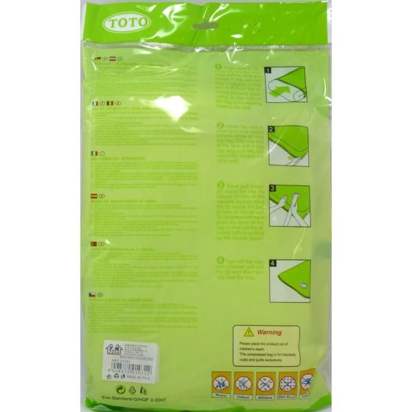 Sacco sottovuoto - 60x50 cm - Colore Verde