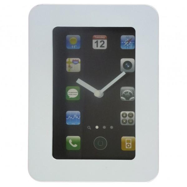 Orologio iPhone - iPad - Da muro o tavolino - Colore Bianco
