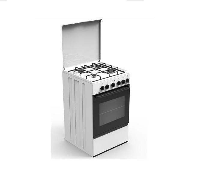Cucina Elettrica Bi540Ga Bompani - 4 Fuochi Forno Classe B - Bianco