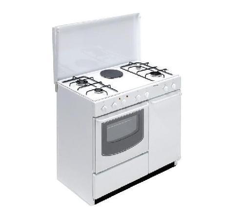 Cucina Bompani 90X60 A Gas+1 Piastra Elettrica Grill E Forno Elettrico