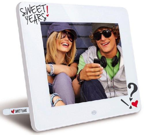 Photo Frame Digitale Sweet Years Con Display Led 7