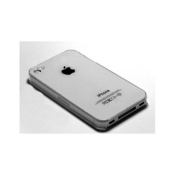 Custodia iPhone 4 e 4s -Trasparente