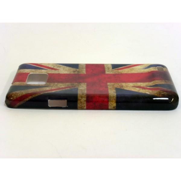 Custodia Samsung Galaxy SII e i9100 - Bandiera UK inglese