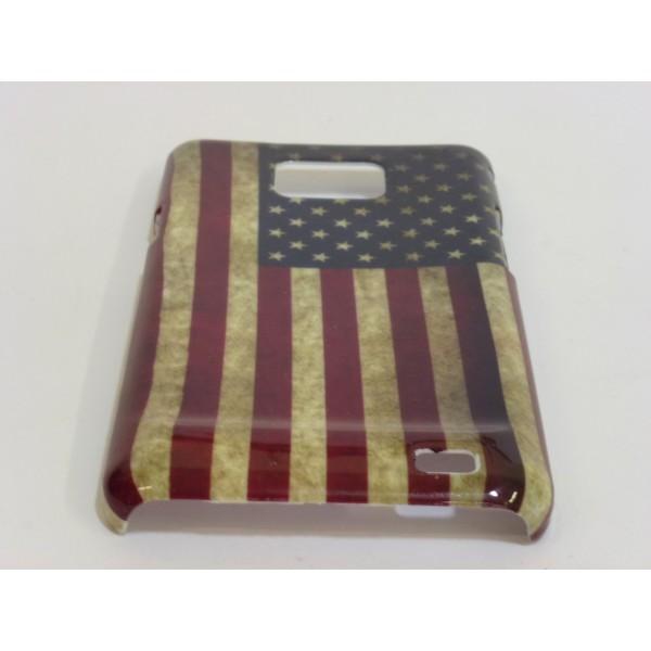 Custodia Samsung Galaxy SII e i9100 - Bandiera USA