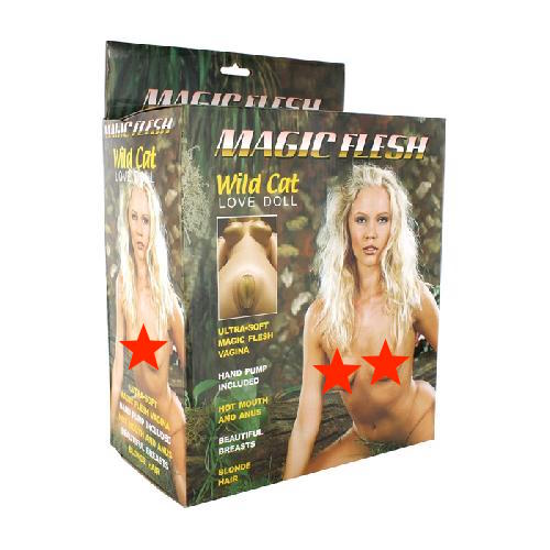 Bambola Magic Flesh Wild Cat