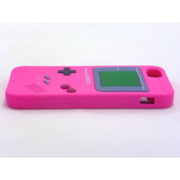 Gameboy iPhone 5 e 5s - Custodia Nintendo - Fucsia