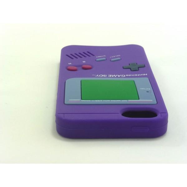 Gameboy iPhone 5 e 5s - Custodia Nintendo - Viola