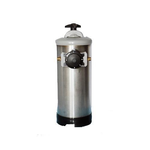 Addolcitore manuale resine acqua lt.20 inox