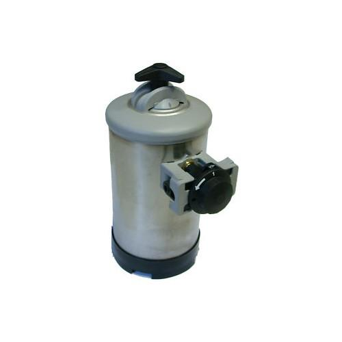 Addolcitore manuale resine acqua lt.8 inox