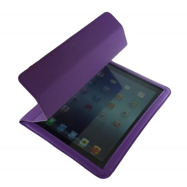 Smart Case per iPad 2 - Nuovo iPad - iPad Retina - Viola
