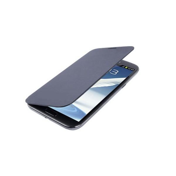 Custodia Flip Cover Case per Samsung Note 2 - N7100 - Blu