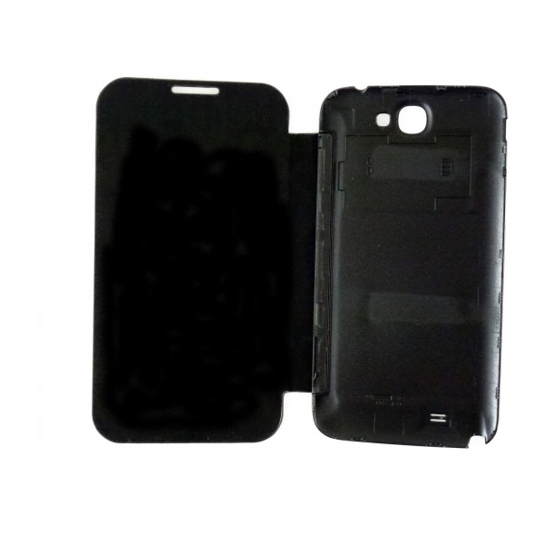 Custodia Flip Cover Case per Samsung Galaxy S3 - i9300 - Nero