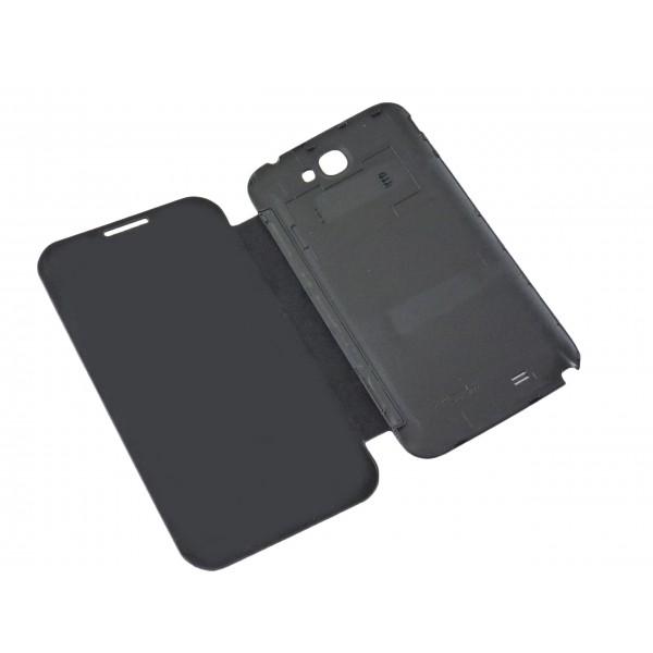 Custodia Flip Cover Case per Samsung Galaxy S3 - i9300 - Nero