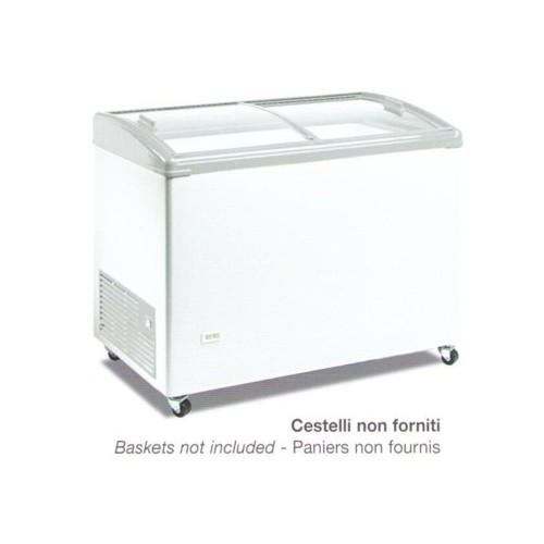 Congelatore a pozzo freezer frigo frigorifero cm. 69.3x67x90