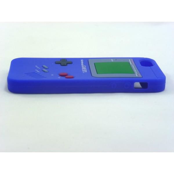 Gameboy iPhone 5 e 5s - Custodia Nintendo - Blu