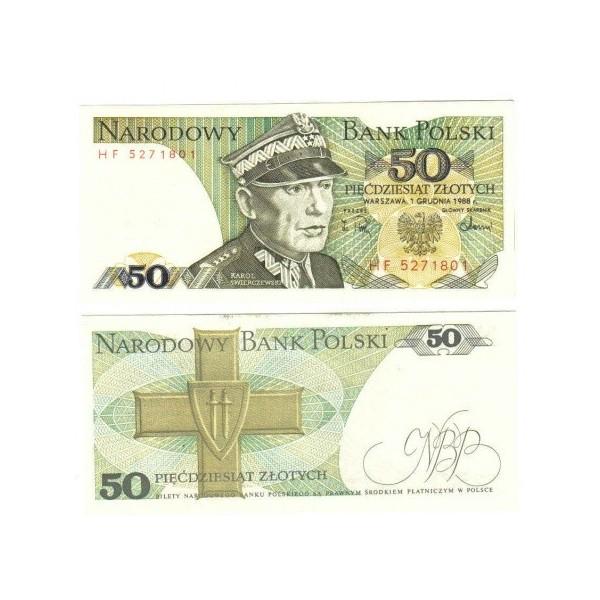 Banconota Fior Di Stampa - 50 Zotly - Polonia