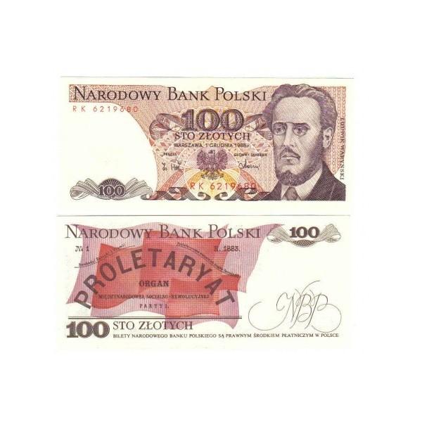 Banconota Fior Di Stampa - 100 Zotly - Polonia