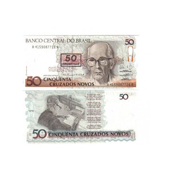 Banconota Fior Di Stampa - 50 Cruzados - Brasile