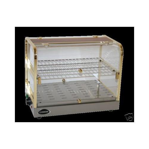 Vetrina CALDA espositore brioche brioches cm. 53x35x43