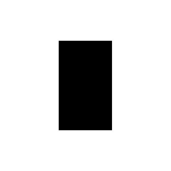 Maserati - Adesivo Prespaziato - Colore Nero - 10cm