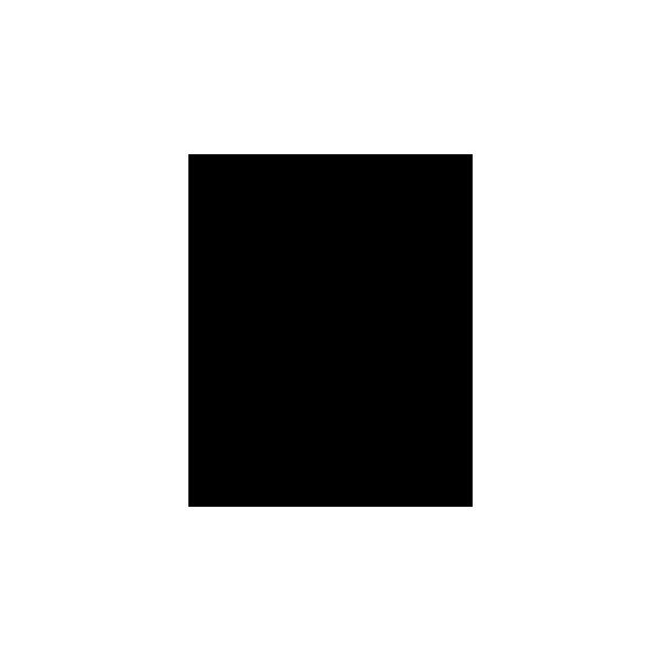 Geko - Adesivo Prespaziato - Colore Nero - 10cm