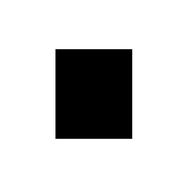 Bulldog - Adesivo Prespaziato - Colore Nero - 10cm