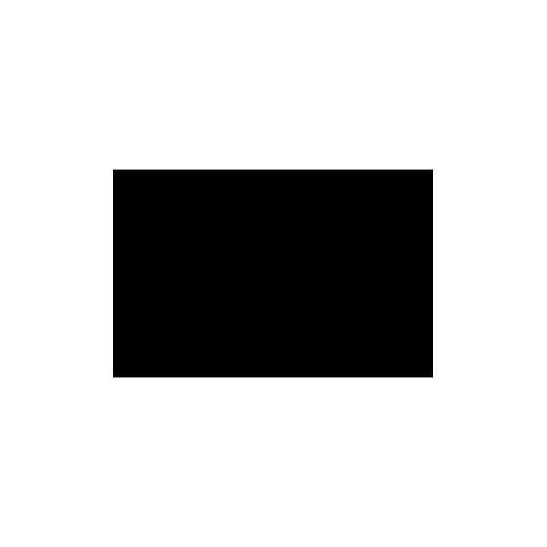 Orme animale - Adesivo Prespaziato - Colore Nero - 10cm