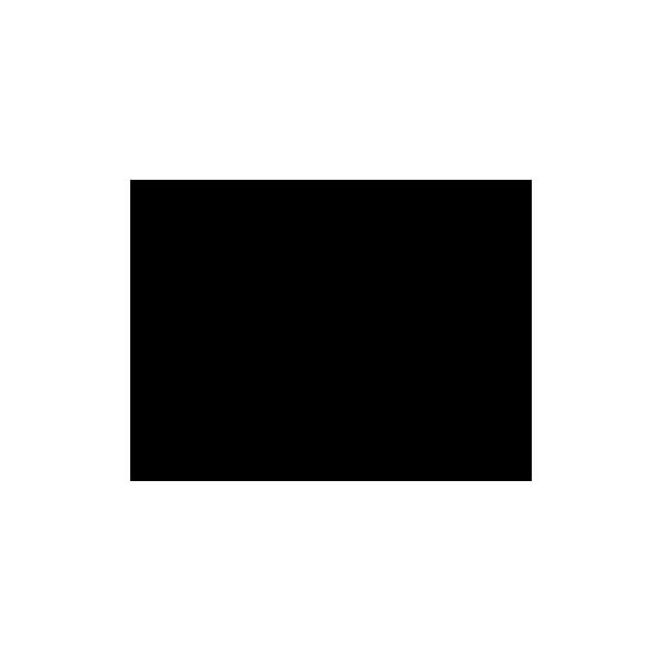 Pippistrelli - Adesivo Prespaziato - Colore Nero - 10cm