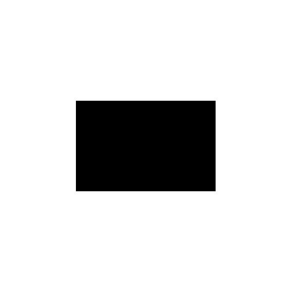 Cane Arrabbiato - Adesivo Prespaziato - Colore Nero - 10cm