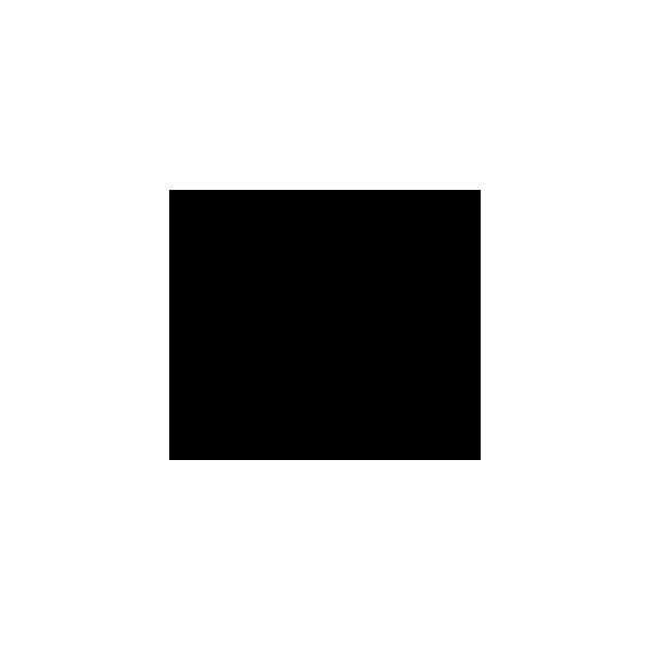 Testa Toro - Adesivo Prespaziato - Colore Nero - 10cm