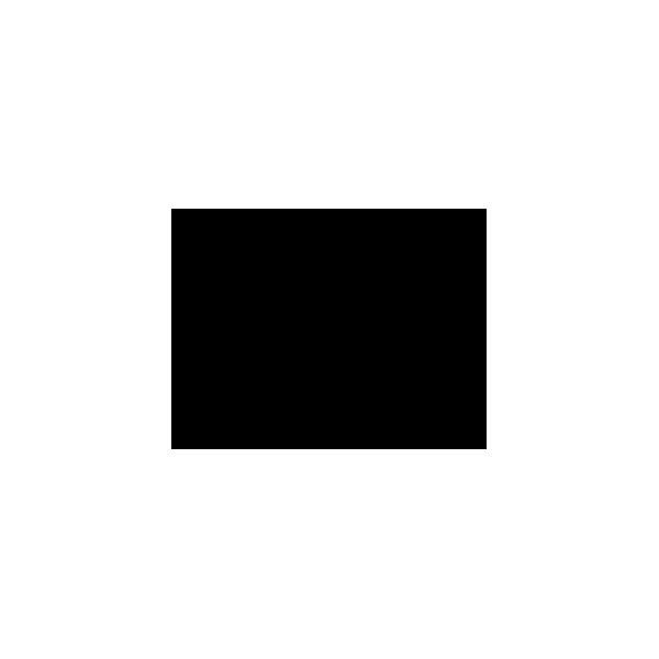 Pesce - Adesivo Prespaziato - Colore Nero - 10cm