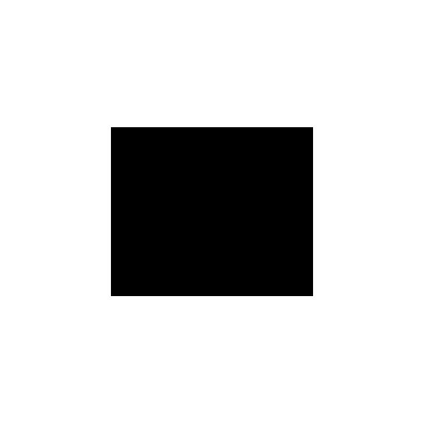 Coccinella - Adesivo Prespaziato - Colore Nero - 10cm