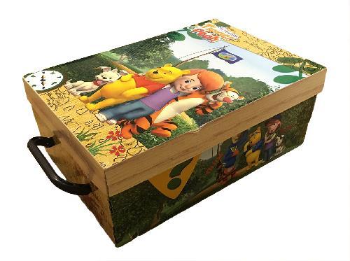 Stock 5 scatole per la casa mini box Winnie The Pooh-32x23x14cm