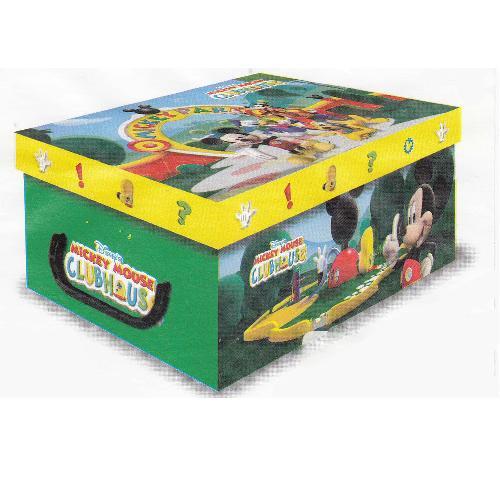 Stock 5 scatole per la casa mini box Mickey Mouse Clubhouse-32x23x14cm