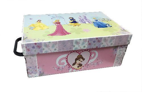 Stock 5 scatole per la casa mini box Le Principesse Disney-32x23x14cm