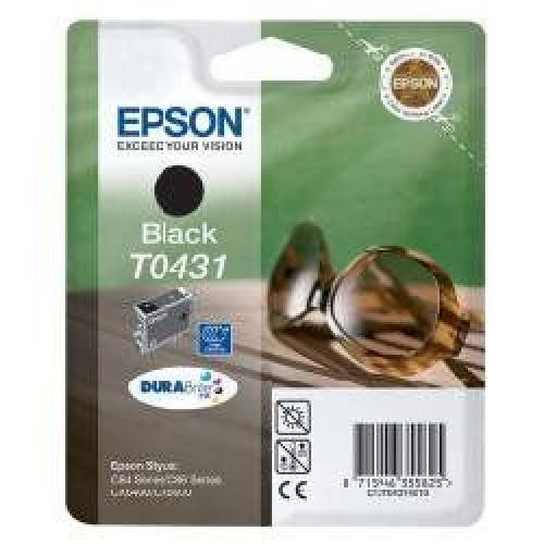 Epson T043140/10/20 C84 Black Inkjet - Cartuccia Originale