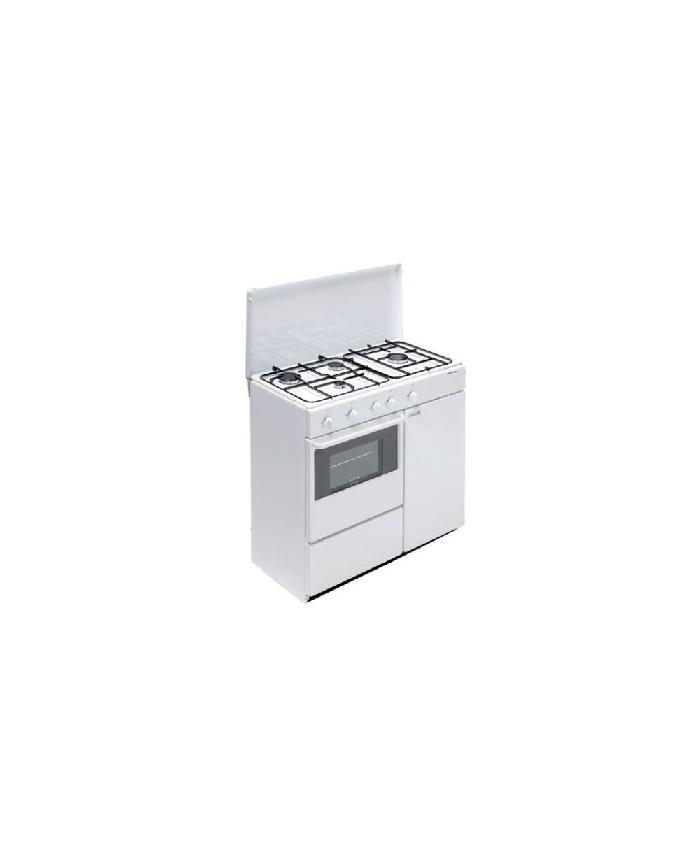 Bompani Bi960Ya / L Cucina E Forno A Gas Dimensioni 85 X 45 Cm- Bianco