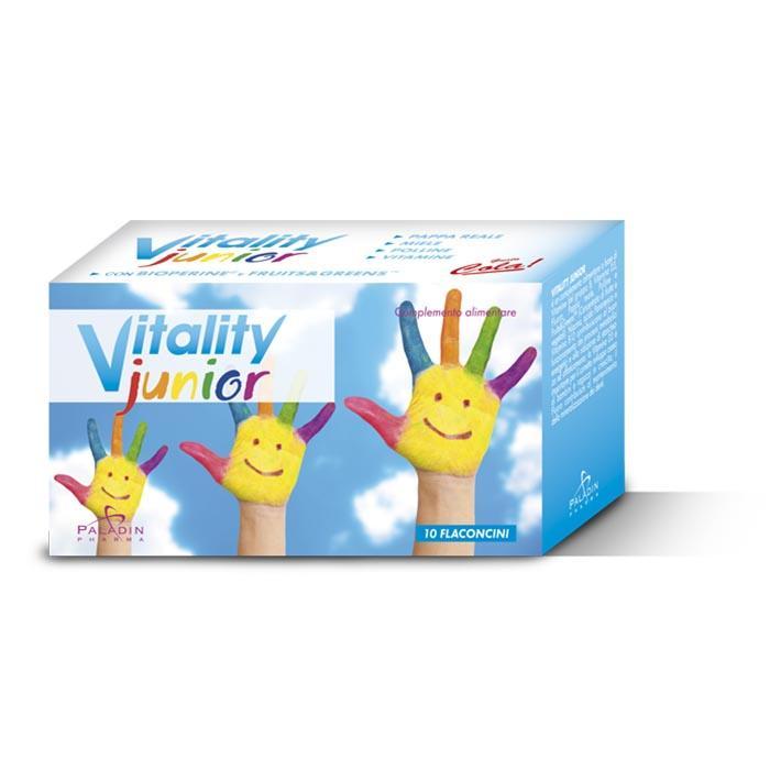 Vitality Junior New 10 Fl - Integratore bambini tonico-energetico