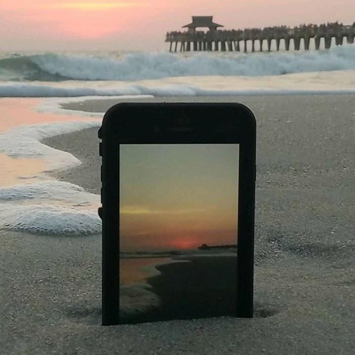 Custodia total protection iPhone 5/5s/SE - Touch ID funzionante-Nero