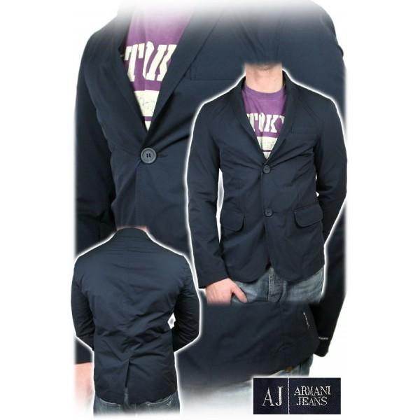 Armani Jeans - Giacca uomo - Taglia 52 - colore Nero
