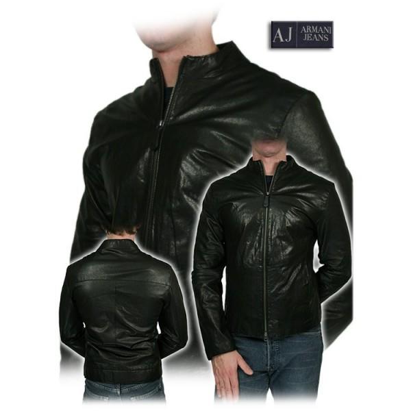 Armani Jeans - Giacca uomo - Vera pelle - Taglia 48