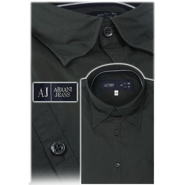 Camicia uomo Armani Jeans - Taglia S - colore Nero