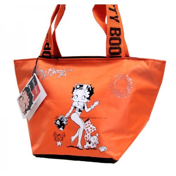 Borsa donna/ragazza Betty Boop - Colore Arancione - 7104