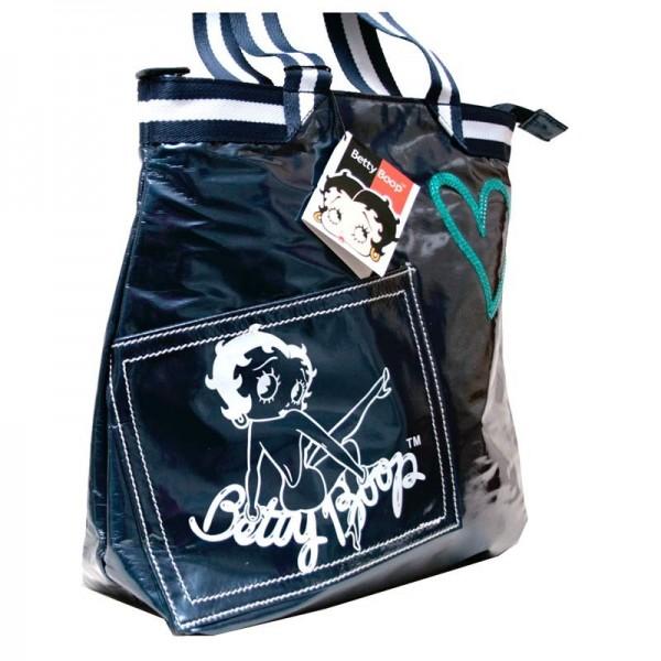 Borsa donna/ragazza Betty Boop - Colore Blu - 0007