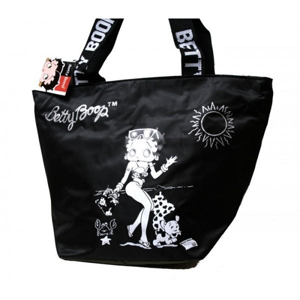 Borsa donna/ragazza Betty Boop - Colore Nero - 6440
